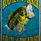"Rodney Parker & The 50 Peso Reward promotional Thom Self 13"" x 19"" Concert Poster"