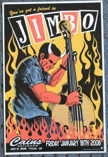 "Reverend Horton Heat promotional Thom Self 13"" x 19"" Concert Poster"