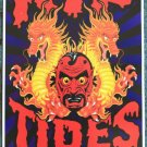 "Rip Tides promotional Thom Self 12"" x 18"" Concert Poster"