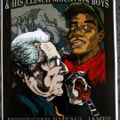 "Ralph Stanley with Possessed by Paul James & T Model Ford Thom Self 13"" x 19"" Concert Poster"