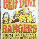 "Red Dirt Rangers promotional Thom Self 13"" x 19"" Concert Poster"