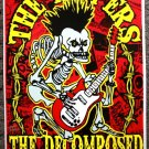 "The Rippers with The Decomposed promotional Thom Self 13"" x 19"" Concert Poster"