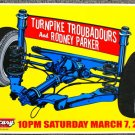 "Turnpike Troubadours with Rodney Parker promotional Thom Self 13"" x 19"" Concert Poster"