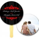 Circle Designer, Wedding Program, Hand Fans Outdoors Event, Auction, Bid Paddles
