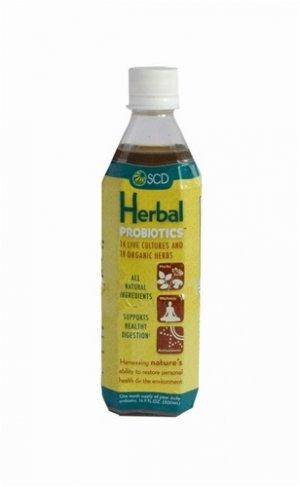 SCD Herbal Probiotics 500 ml (1/2 Liter) 16.9 oz
