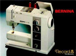 Bernina 930 Sewing Machine Manual in PDF format on CD