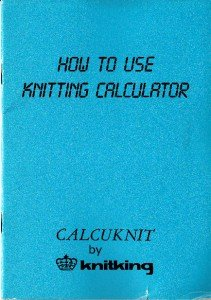 How to Use the CALCUKNIT Knitting Calculator CD in PDF