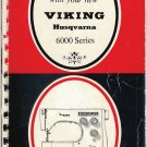 Viking 6000 Instruction Black & Red Manual PDF format CD