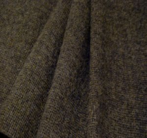 """""""Barnboard"""" Textured Wool Fabric, 3"""" Strip for Rug Hooking, Penny Rugs, Quilting"""