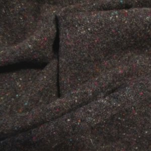 """""""Starry Night"""" Textured Wool Fabric, 3"""" Strip for Rug Hooking, Penny Rugs, Quilting"""