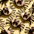 Spider Eyelets - Embellishments Scrapbook Paper Art Craft Holiday Cards Tags Piecing Supplies