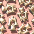 Silver Angel Eyelets - Embellishments Scrapbook Paper Art Craft Holiday Cards Tags Piecing Supplies