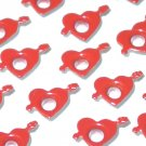 Heart with Arrow Eyelets - Embellishments Scrapbook Paper Art Craft Holiday Cards Tag Piecing Supply