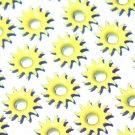Sun Eyelets - Embellishments Scrapbook Paper Art Craft Holiday Cards Tags Piecing Supplies