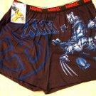 NEW Mens MARVEL X-MEN Boxers LARGE Shorts L 36-38 NWT