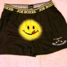 NEW Mens SMILE FACE #2 Boxers MEDIUM Sleep Shorts M 32-34