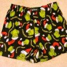 NEW Mens Dr. Seuss GRINCH Boxers LARGE Shorts L 36-38 NWOT