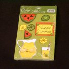 "Small ""Sweet Summer"" Cute Cut Out's - Embellishments Paper Arts Craft Scrapbooking Tags Cards Supply"