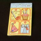 """Small """"Birthday Fun"""" Cute Cut Out's - Embellishments Arts Crafts Scrapbooking Paper Tags Card Supply"""