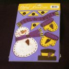 """Large """"Feelin' Frosty"""" Cute Cut Out's - Embellishments Arts Crafts Scrapbook Paper Tags Cards Supply"""