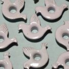 Dove Eyelets - Embellishments Scrapbook Paper Art Craft Holiday Cards Tags Piecing Supplies