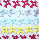 Airplane Eyelets - Embellishments Scrapbooking Paper Arts Crafts Holiday Cards Tags Piecing Supplies