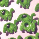 Turtle Eyelets - Embellishments Scrapbooking Paper Arts Crafts Holiday Cards Tags Piecing Supplies
