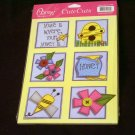 "Large ""Home/Honey"" Cute Cut Out's - Embellishments Arts Crafts Scrapbook Paper Tags Cards Supply"
