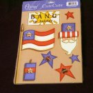 "Large ""USA/Bang"" Cute Cut Out's - Embellishments Arts Crafts Scrapbook Paper Tags Cards Supply"