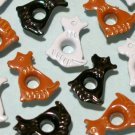 Dog Mix Eyelets - Embellishments Scrapbooking Paper Arts Crafts Holiday Cards Tags Piecing Supplies