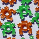 Frog/Toad Mix Eyelets - Embellishments Scrapbook Paper Arts Crafts Holiday Cards Tags Piecing Supply