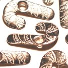 Silver CANDY CANE Eyelets - Embellishments Scrapbook Paper Arts Crafts Holiday Cards Tags Supplies