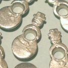 SNOWMAN Silver Eyelets - Embellishments Scrapbook Paper Arts Crafts Holiday Cards Tags Supplies