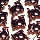 Black TRAIN Eyelets - Embellishments Scrapbooking Paper Arts Crafts Holiday Cards Tags Supplies