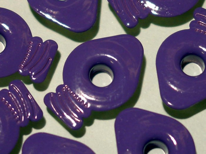 Purple LIGHT BULB Eyelets - Embellishments Scrapbooking Paper Arts Crafts Holiday Cards Tags Supply