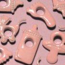 Baby Mix Pink Infant Eyelet Scrapbooking Embellishments
