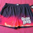 NEW Mens GUITAR HERO Boxers LARGE Sleep Shorts L 36-38