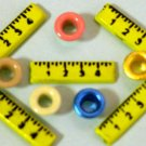 Brads Ruler School Days Eyelets Card Tag Embellishments