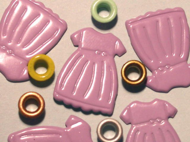Brads Purple Dress Party Fashion Eyelets Embellishments