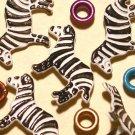 Brads Zebra Safari Wild Zoo Animal Eyelet Embellishment