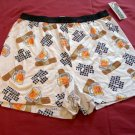 NEW Mens BEER HEALS WOUNDS Boxers L Shorts LARGE 36-38