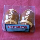 NEW - IT'S GAME DAY FOOTBALL SALT & PEPPER SHAKERS NIB