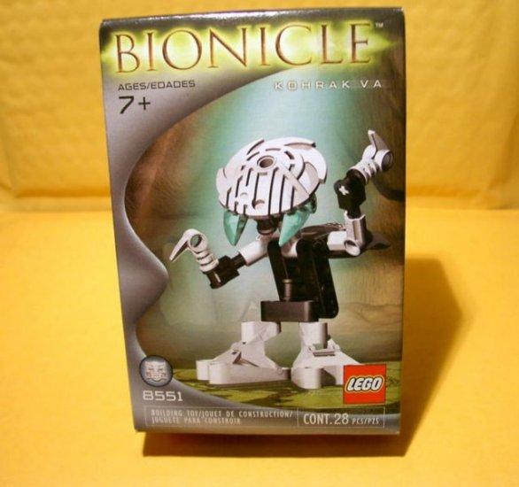 NEW LEGO Bionicle Pieces Are MIP Kohrak Va 8551 BOHROK