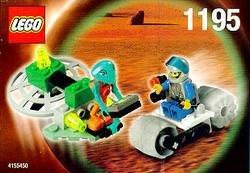 NEW Lego #1195 -2 Alien Martians Life On Mars Space Set