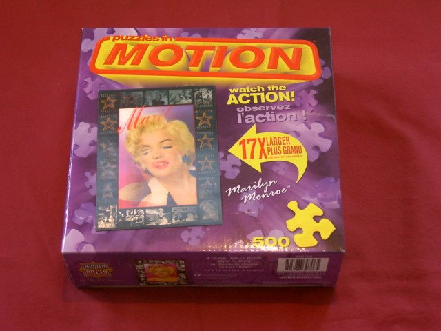 500 Pc Jigsaw Puzzle MARILYN MONROE In Motion 14x19 NEW