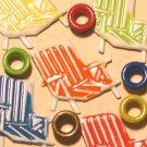 Brads Mix Beach Chair Pool Eyelets Card Embellishments