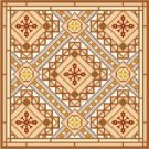 "6065 Geometric Needlepoint Canvas 8"" x 8"""