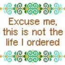 "6084 Sayings Needlepoint Canvas 6"" x 6"""