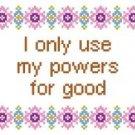 "6083 Sayings Needlepoint Canvas 6"" x 6"""