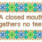 "6074 Sayings Needlepoint Canvas 6"" x 7"""